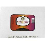 GTS Living Foods Kombucha, Organic, Synergy, Euphoria, Classic