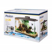 Aqueon 29-Gallon Glass Fish Tank Kit With LED Light