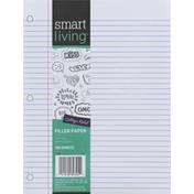 Smart Living Filler Paper, College Ruled, 150 Sheets