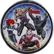 Unique Plates, Marvel Avengers, 6-3/4 Inch