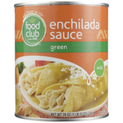 Food Club Mild Green Enchilada Sauce