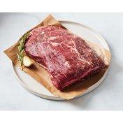 Haw Natural Top Blade Roast Chuck Beef