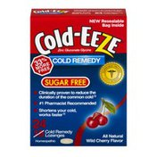 Cold-Eeze Cold Remedy Sugar Free Lozenges Cherry - 24 CT