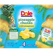 Dole Pineapple Chunks, in 100% Pineapple Juice