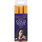 Donna Cold Wave Rods, Orchid/Orange, 3-1/4 Inches