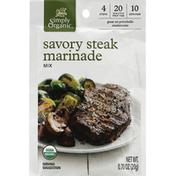 Simply Organic Marinade Mix, Savory Steak