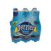 PERRIER Lightly Carbonated Mineral Water Plastic