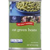 Kroger Green Beans, Cut, No Salt Added