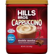Hills Bros. Sugar Free Double Mocha Cappuccino Café Style Drink Mix