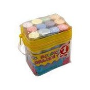 Creative Kids Assorted Colored Chalk With Tote