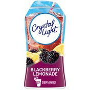 Crystal Light Blackberry Lemonade Naturally Flavored Drink Mix