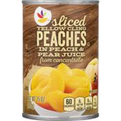 SB Sliced Peaches, Yellow Cling