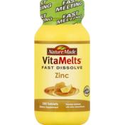 Nature Made Zinc, Tablets, Honey Lemon