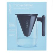 Soma 10 Cup Filtered Water Pitcher, Black