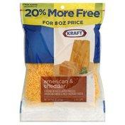 Kraft Cheese, American & Cheddar