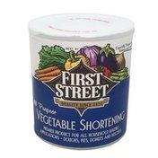 First Street Vegetable Shortening