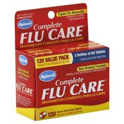 Hyland's Flu Care, Complete, Non-Drowsy Formula, Quick-Dissolving Tablets, Value Pack