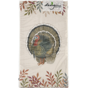 Design Design Buffet Napkins, Foliage and Feathers, 3-Ply