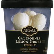 Private Selection Sorbetto, California Lemon Grove