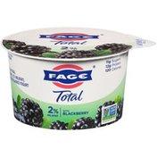 FAGE Greek Strained Yogurt with Blackberry