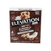 Elevation by Millville Almond Coconut Fruit & Nut Bars
