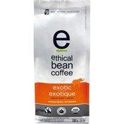 Ethical Bean Fairtrade Organic Coffee, Exotic Medium Roast, Whole Bean Coffee