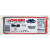 Frank Corriher Liver Mush, Country, Special Family Pack