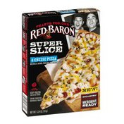 Red Baron Feasts For One Super Slice 4-Cheese Pizza