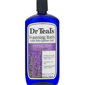 Dr. Teal's Foaming Bath, with Pure Epsom Salt, with Lavender