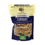 From the Fields Organic Currant Granola With Flax Seeds