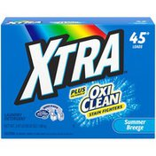 Xtra Summer Breeze Plus OxiClean™ Stain Fighters Xtra Summer Breeze Plus OxiClean Stain Fighters Laundry Detergent