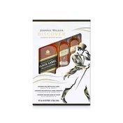 Johnnie Walker Black Label Blended Scotch Whisky, 750 with 2 50mls