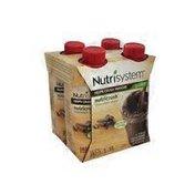 Nutrisystem 4 Milk Chocolate Shakes