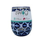 Swig 14 Oz Indigo Isles Stemless Cup