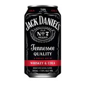 Jack Daniel's Jack Daniel's and Cola Ready to Drink