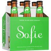 Goose Island Beer Co. Sofie Barrel-Aged Saison with Orange Peel Beer Barrel