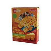 Meijer Reduced Fat Cheese Crackers