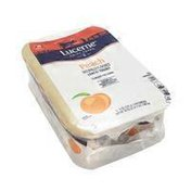 Lucerne Low Fat 1% Peach Yogurt