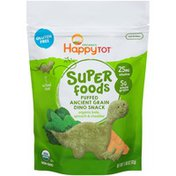 Happy Tot Super Foods Puffed Organic Kale, Spinach & Cheddar Ancient Grain Snack