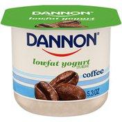 Dannon Classic Blended All Natural Coffee Lowfat Yogurt
