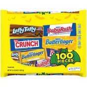 Nestle Butterfinger, Nestle Crunch, Baby Ruth, and Laffy Taffy Hot Cocoa Chocolatey and Sugar Candy
