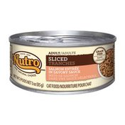 Nutro Sliced Salmon Entree Canned Adult Cat Food Case