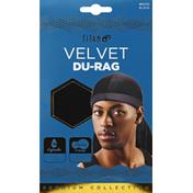 TITAN Du-Rag, Velvet, Black