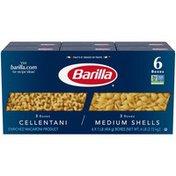 Barilla® Cellentani/Medium Shells Variety Barilla Cellentani/Medium Shells Pasta Variety Pack