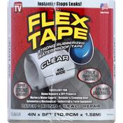 FLEX TAPE Clear, Strong Rubberized, Waterproof