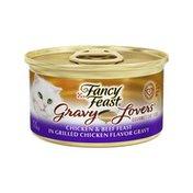 Fancy Feast Gravy Lovers Chicken & Beef Feast in Grilled Chicken Wet Cat Food