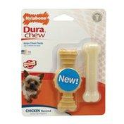 Nylabone Dura ChewChicken Flavored Bone Dog Chew