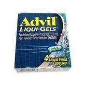 Advil Solubilized Ibuprofen Liqui-Gel Capsules