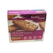Signature Kitchens Crunchy Granola Bars Variety Pack