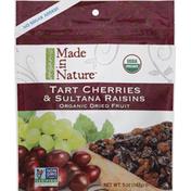 Made in Nature Tart Cherries & Sultana Raisins, Organic Dried Fruit